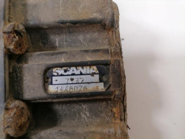 Scania Õhkvedrustuse klapp, ECAS