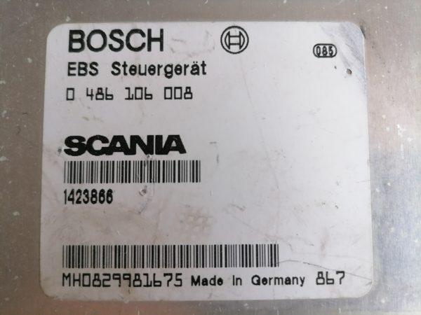 Scania juhtplokk, EBS