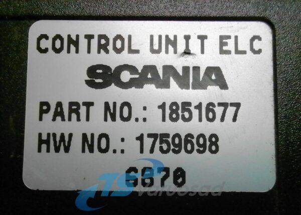 Scania juhtplokk, ECAS 6X2/BUS