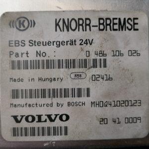 Volvo juhtplokk, EBS