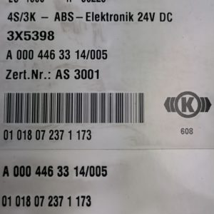 Mercedes-Benz Juhtplokk, ABS