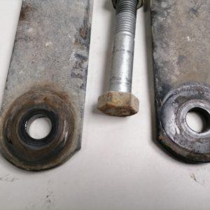 Scania, stabilisaatorvarda tugi