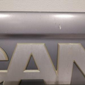 Scania Rsrj, Iluvõre plekk, Front grille panel