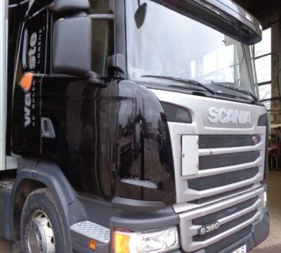 Scania avariijärgne taastusremont