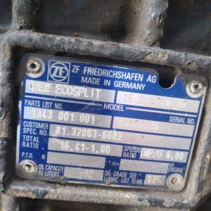 MAN Käigukast 16 S 2220TD (remonditud)
