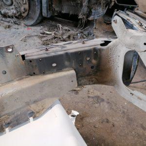 Scania esistange, kaitseraud