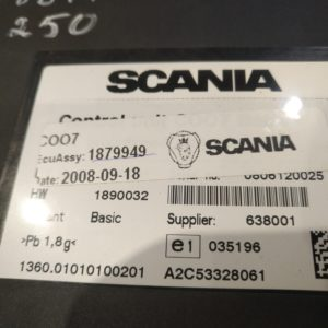 Scania juhtplokk, ECU COO7