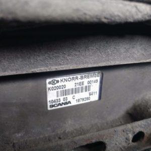Scania EBS juhtklapp, veosild