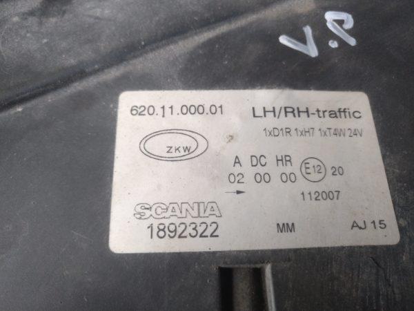 Scania XENON esitulede kompl