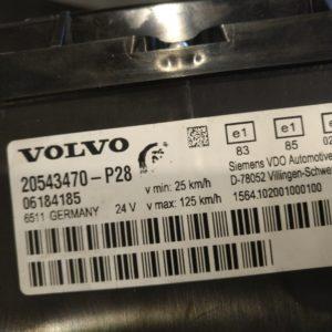 Volvo näidikute paneel