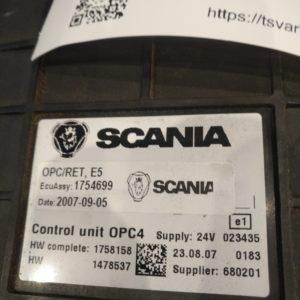 Scania juhtplokk, käigukast  OPC4